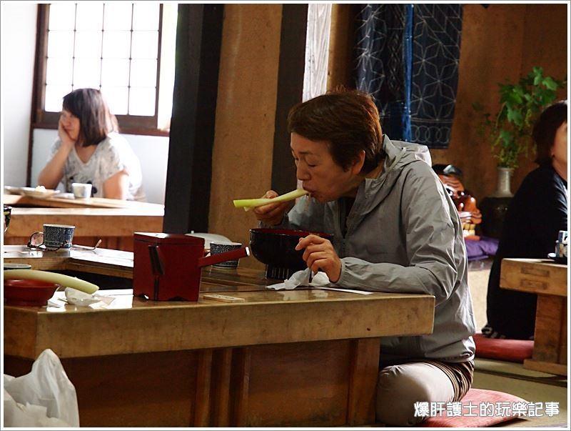 【福島美食】大內宿三澤屋名物大蔥蕎麥麵,讓人一吃難忘!高遠そば(ねぎそば)