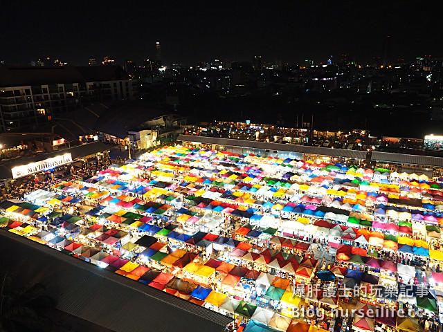 【曼谷旅遊】500個攤位!逛到腿軟、吃到撐的火車夜市 Talad Rot Fai train market - nurseilife.cc