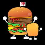 漢堡與雞塊