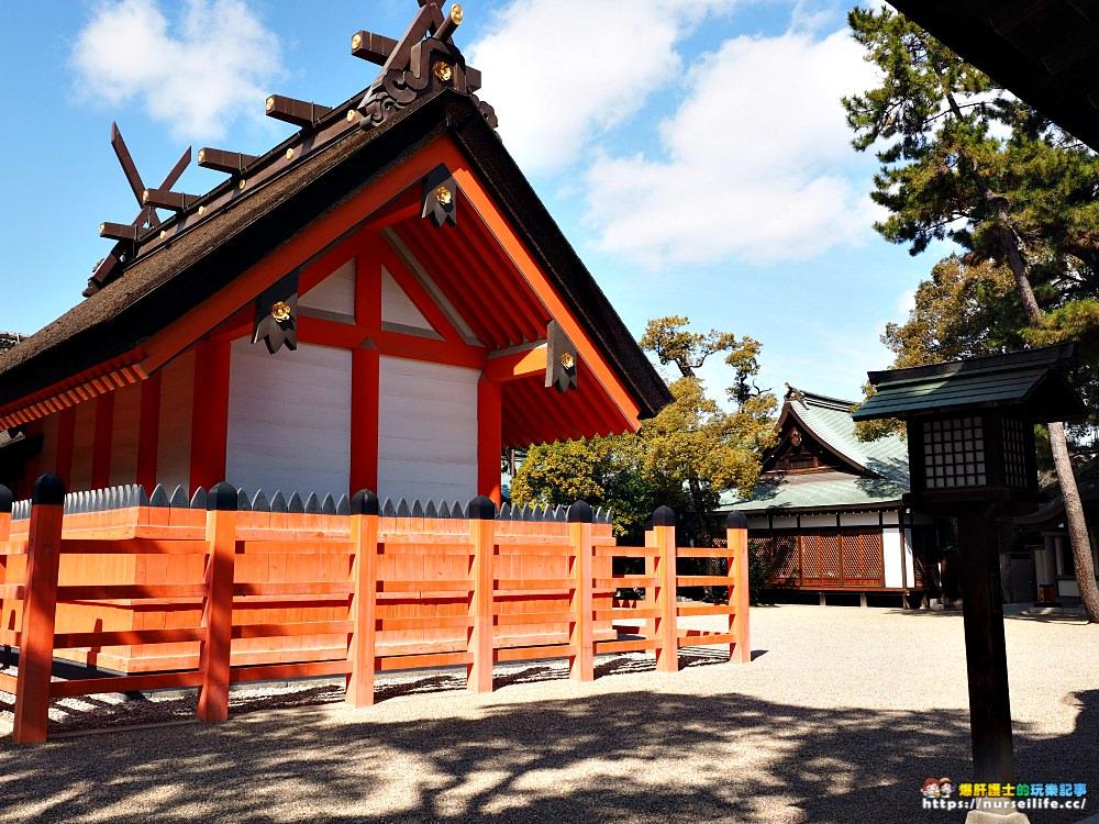 大阪 住吉大社.在古老神社感受紅與藍的寧靜