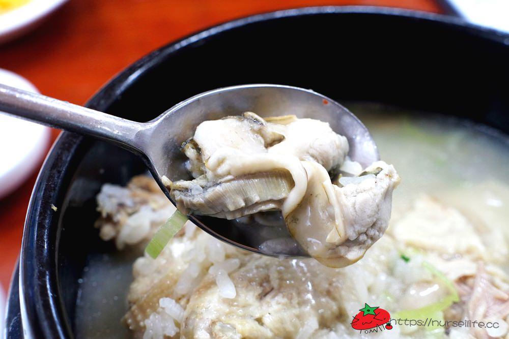 韓國、大邱│藥令市場사계절한방굴국밥漢方蔘雞湯與牡蠣湯飯.健康營養的好選擇