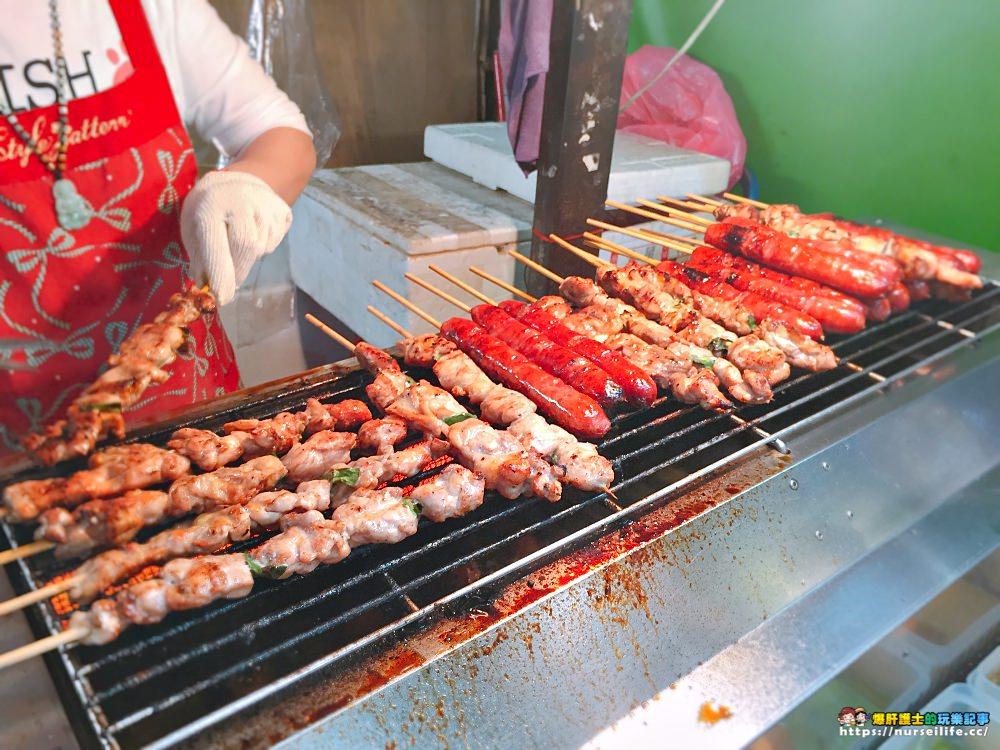 三重三和夜市 瑪拉桑原住民山豬肉香腸.山雞肉串 - nurseilife.cc