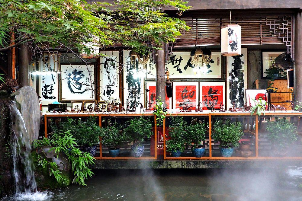 中國、四川|成都錦里古街.小橋流水遇小吃