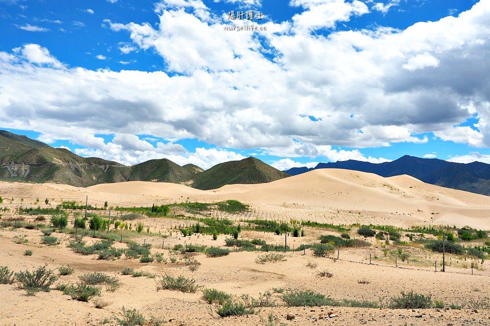 中國、西藏|越過山丘.探訪西藏第一座宮殿與文成公主的聖泉