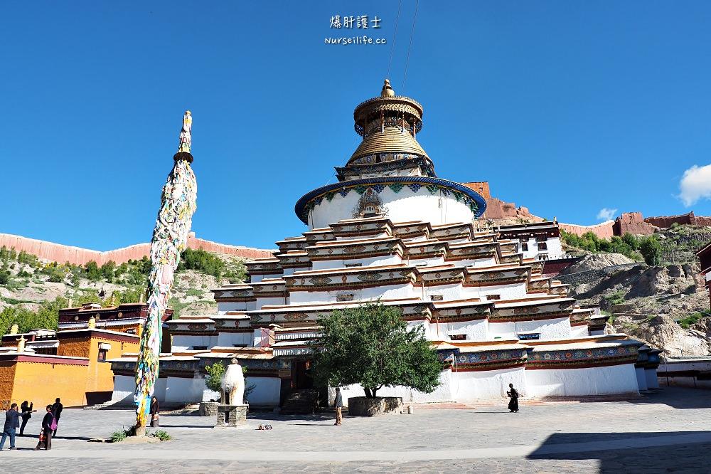 中國、西藏|日喀則白居寺.十萬佛塔十萬心