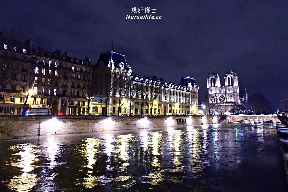 拱廊街PASSAGES、聖米歇爾區、巴黎聖母院.塞納河畔的夜間漫步