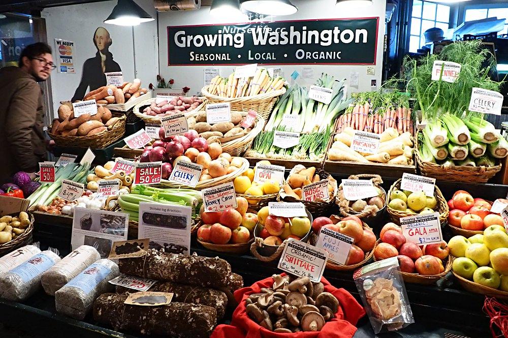 美國、華盛頓州|西雅圖派克市場、全球第一家星巴克、口香糖牆、Pike Place Chowder - nurseilife.cc