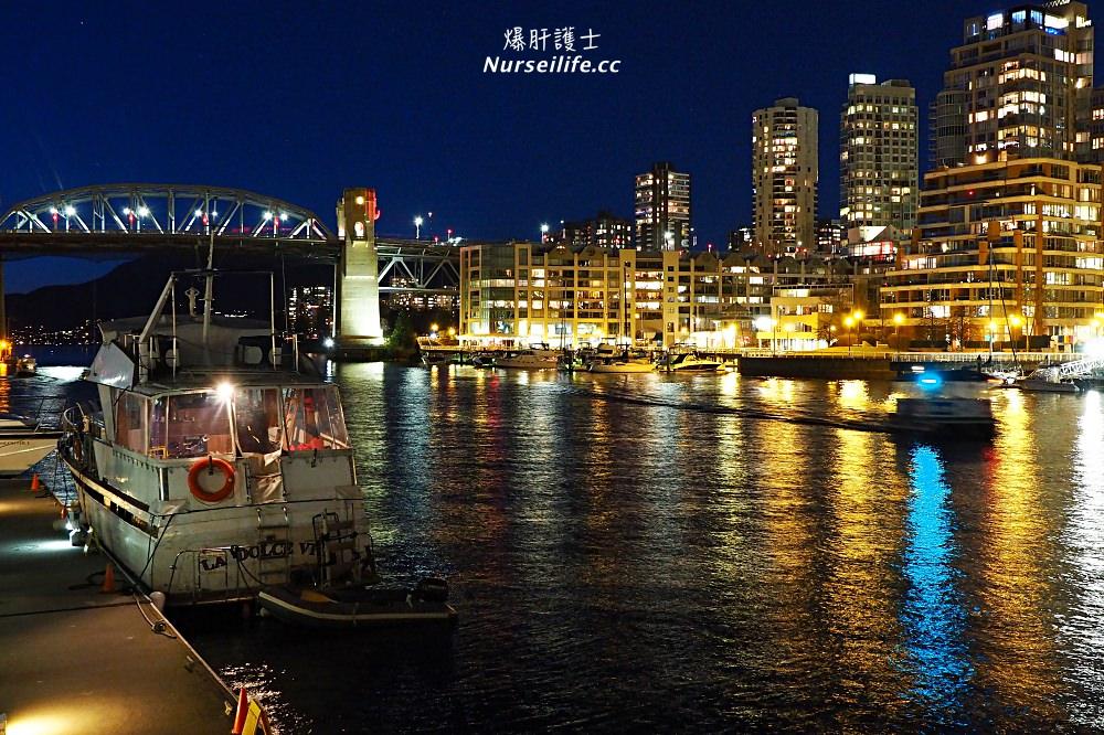加拿大、溫哥華 旅遊當地不能缺少的港都夜景