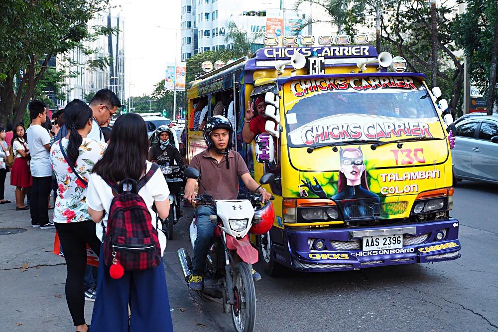 Jeepney-菲律賓最流行與平價的交通工具