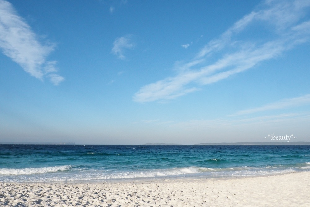 澳洲 海姆斯沙灘Hyams Beach.最美麗也最危險的白沙灘