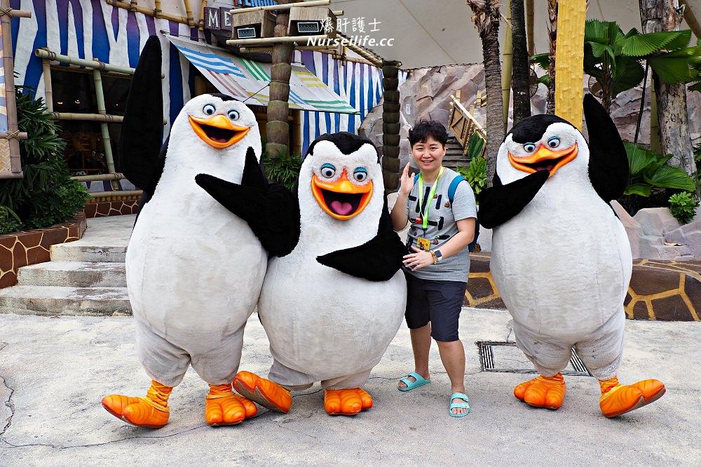 馬達加斯加爆走企鵝及靴貓劍客帶你爽玩【新加坡環球影城】