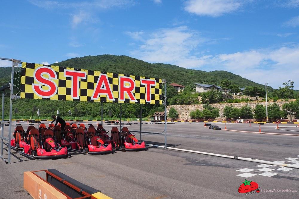 梁山|伊甸園渡假村.斜坡滑道車、跑跑卡丁車都給它玩起來!