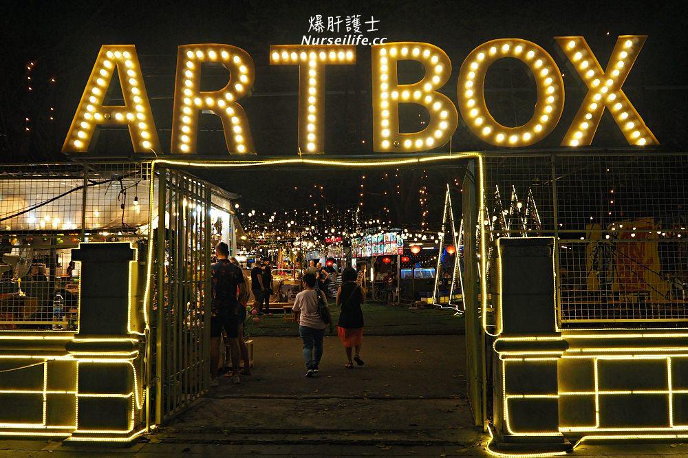 曼谷 ART BOX.BTS NANA 站的文創夜市