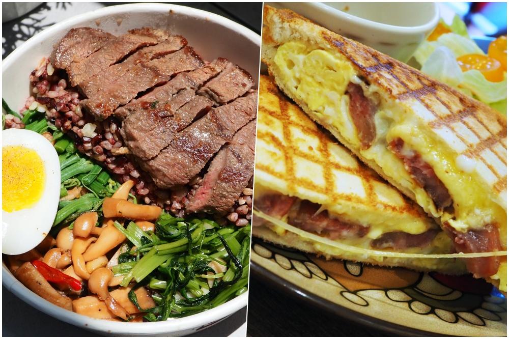天母 chichi's 早餐熱壓吐司x健康餐盒.芋泥肉鬆和香腸點下去就對了!