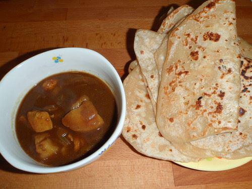 印度咖哩烤餅