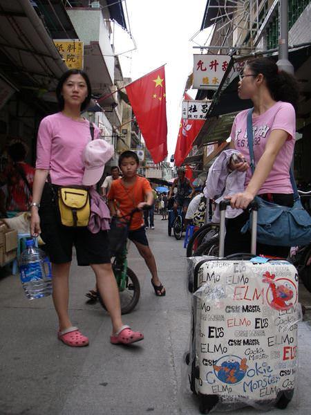 香港大暴走 Day 3-3 我在長洲天氣晴,腳很痠…