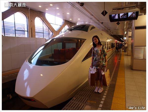 新宿→箱根湯本+登山電車亂逛之旅
