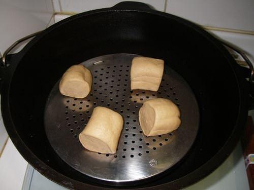 荷蘭鍋之黑糖饅頭~