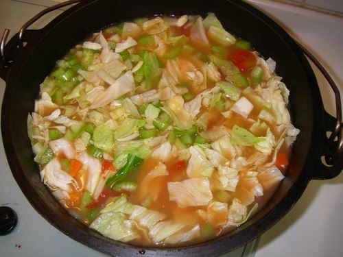 義式蔬菜湯–青菜在這啦~~~