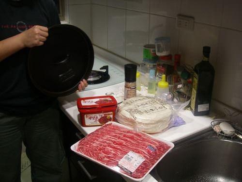 韓式燒肉捲