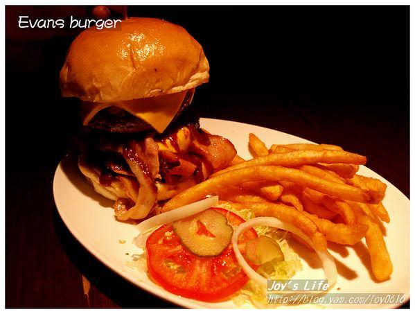【台北 大安】Evans burger(已結束營業)
