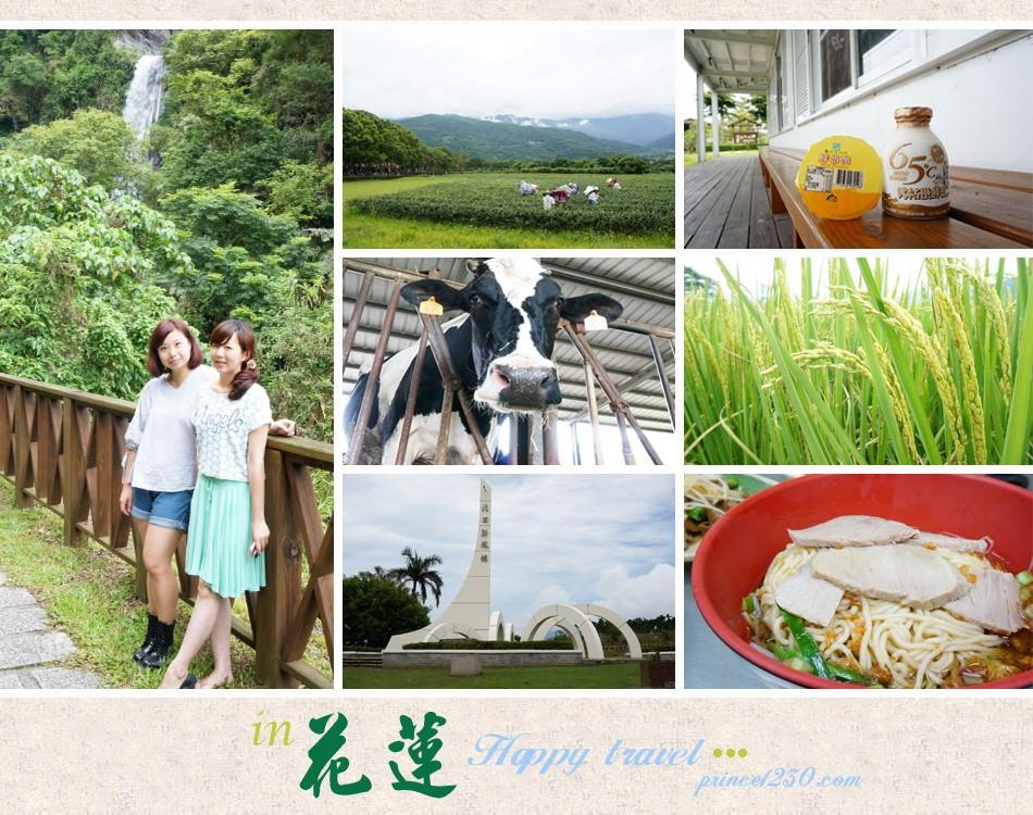 (旅遊慢步)放鬆慢玩隨處都是美-東台灣花蓮自由行Day1