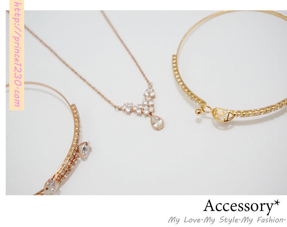 (飾品)女生就愛簡單的小飾品-東京著衣手環項鍊