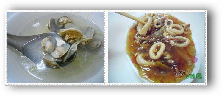 花枝與蛤蜊湯