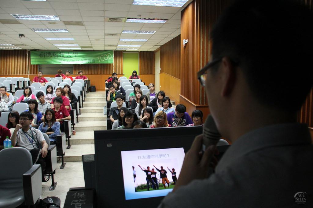 受邀樹得科技大學-攝影講師