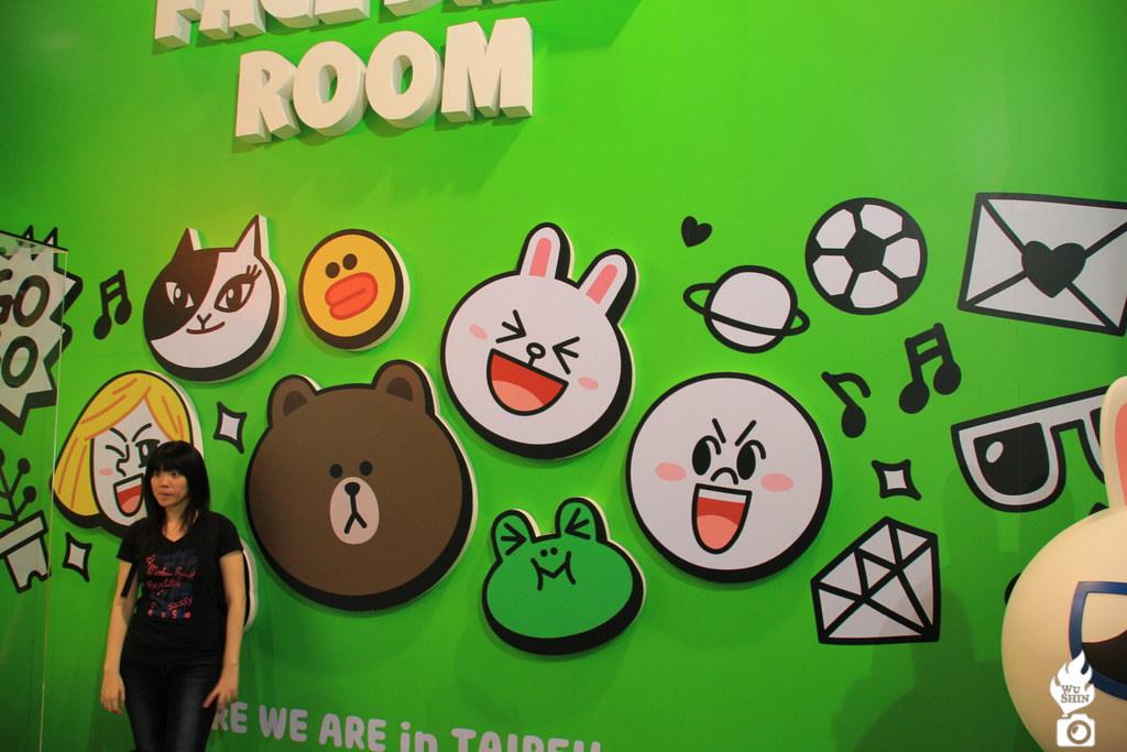 LINE 展覽 臺北 台中 熊大 兔兔