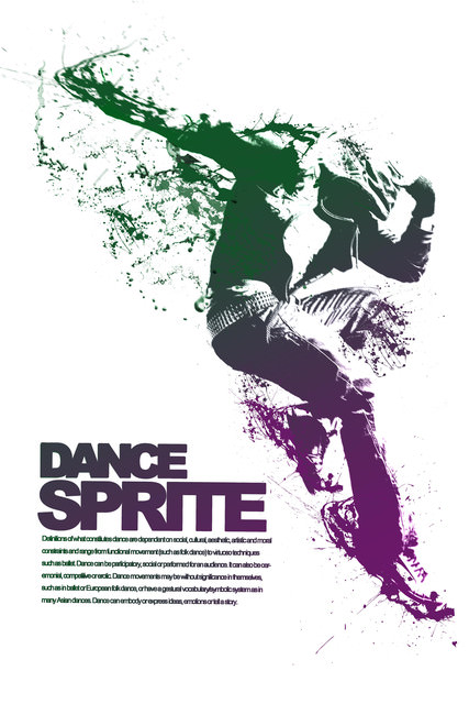 dance海報設計