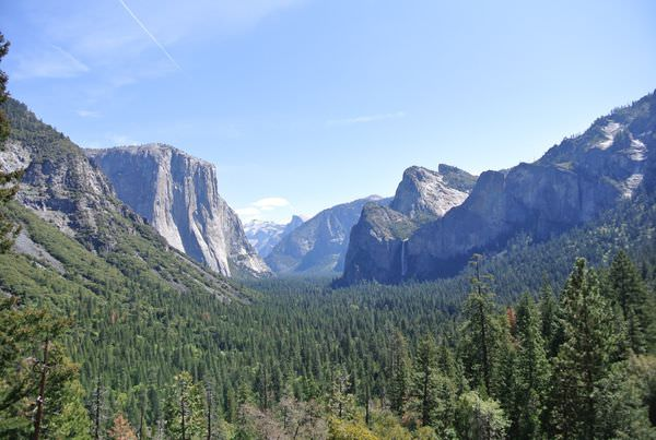 《美國加州》優勝美地。Yosemite National Park。風景如其名