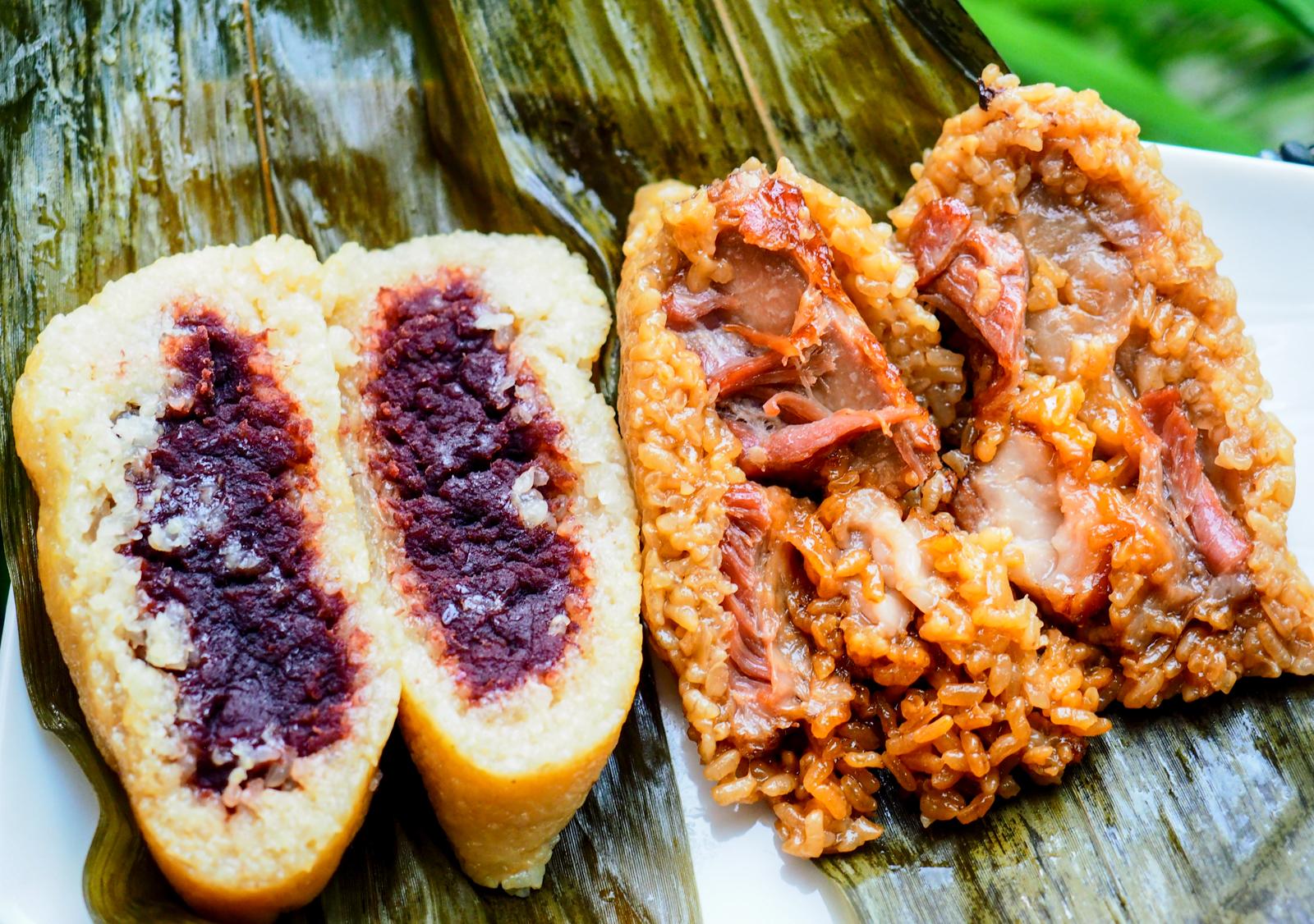 【台北肉粽推薦】隱藏在老台北市場的滋味 四喜食品行湖州粽 豆沙粽排骨粽一絕!