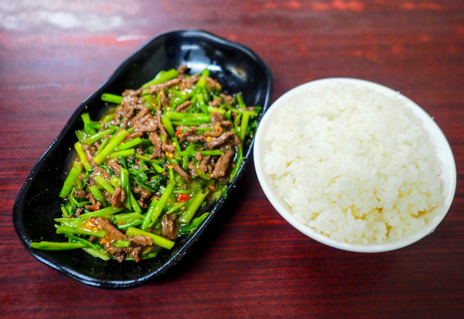 【南港美食】只賣三樣主食不用挑 南港炒牛肉數十年的好味道