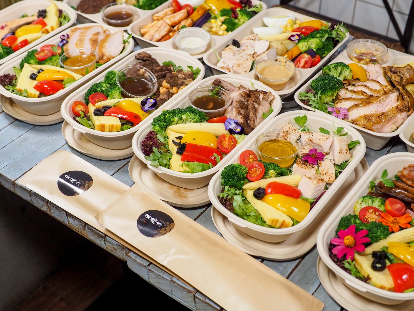 今天來點低卡健康又美味的餐盒 玉膳房 御選珍味料理 十一種餐盒滿足你的胃與心