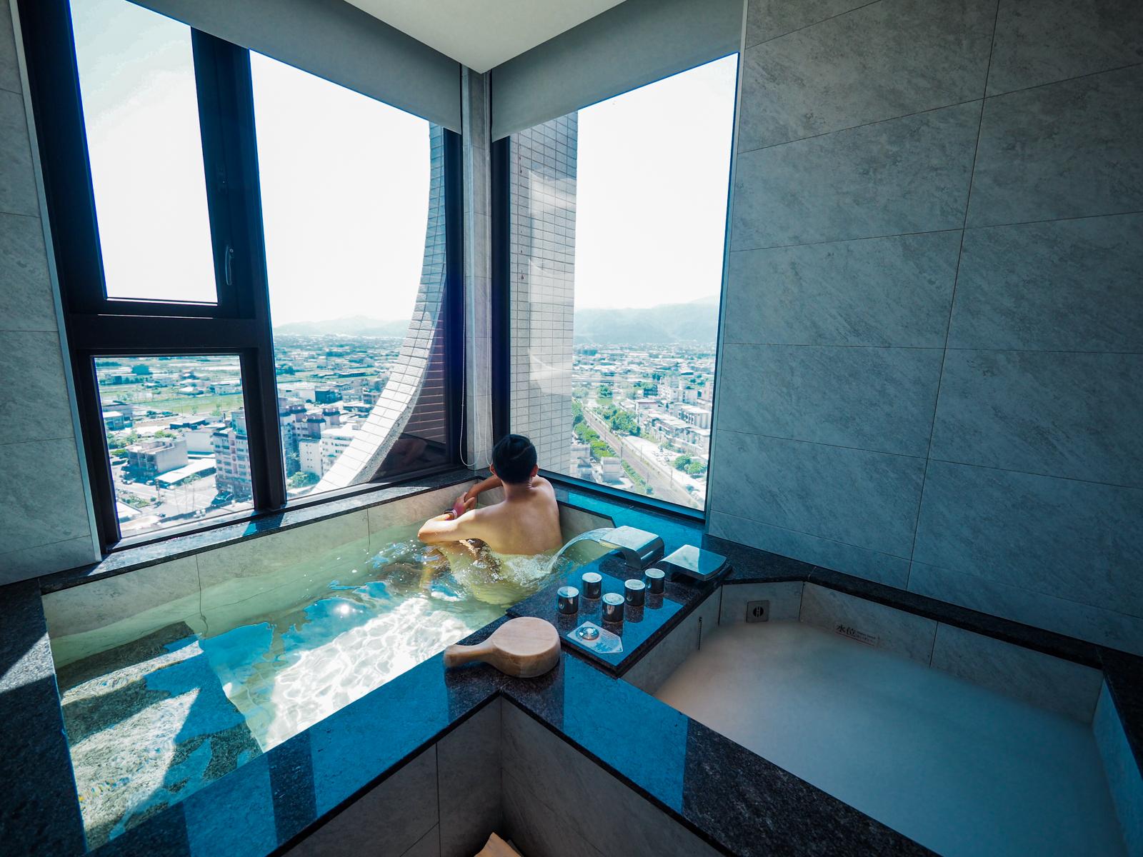【羅東住宿推薦】村却國際溫泉酒店 最棒的溫泉一泊二食體驗   房間雙湯池好享受