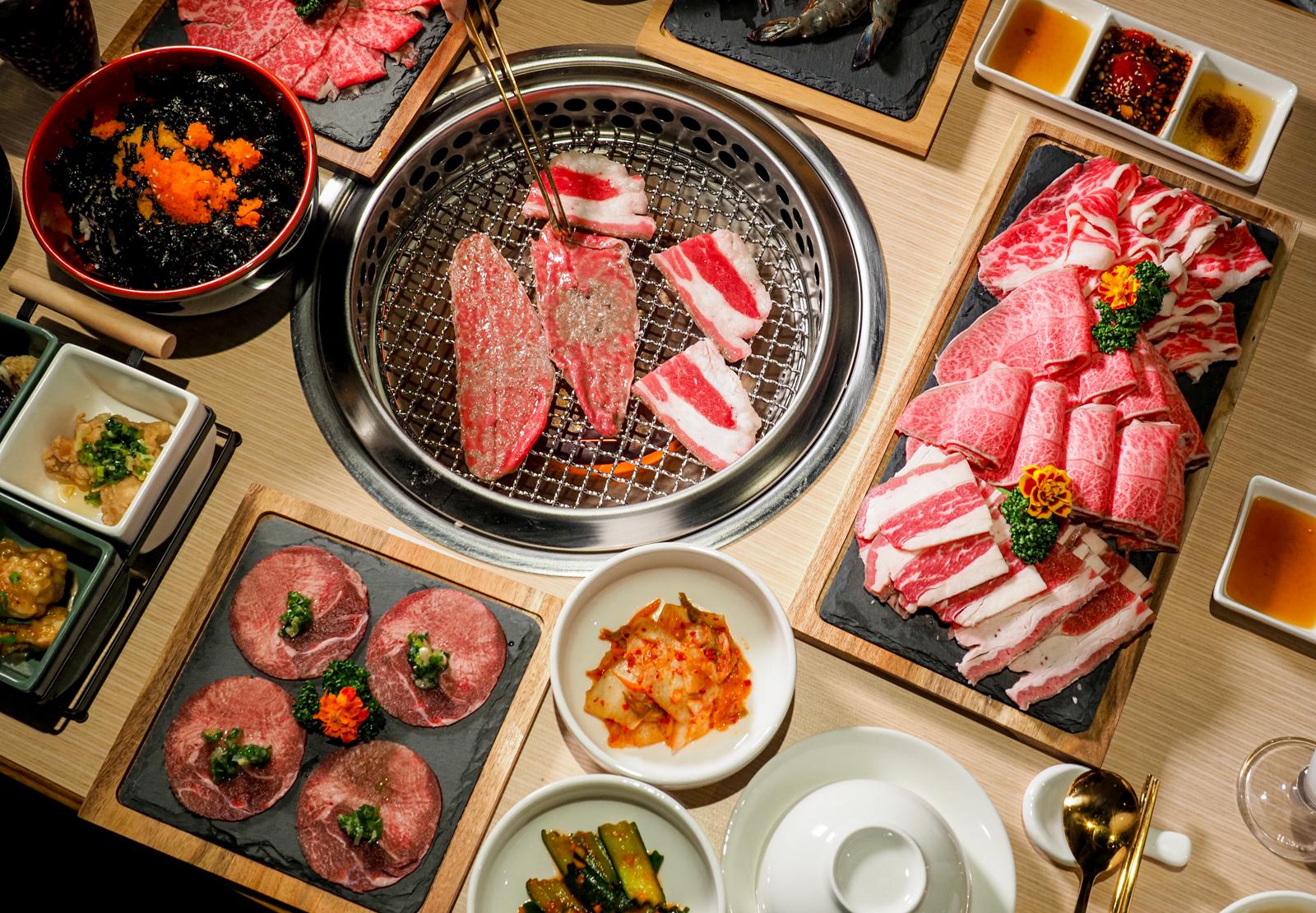 【東區燒肉推薦】小豬樂石忠孝旗艦店 高品質又平價的雙人燒肉套餐 飽到翻肚