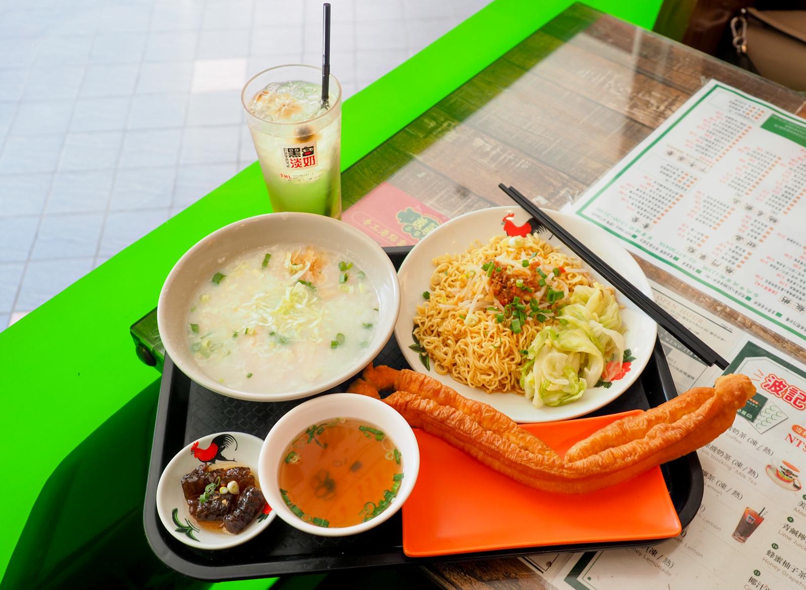 【東區美食】正統香港快餐看這裡 波記冰室套餐划算份量多  X.O醬撈麵超夠味!