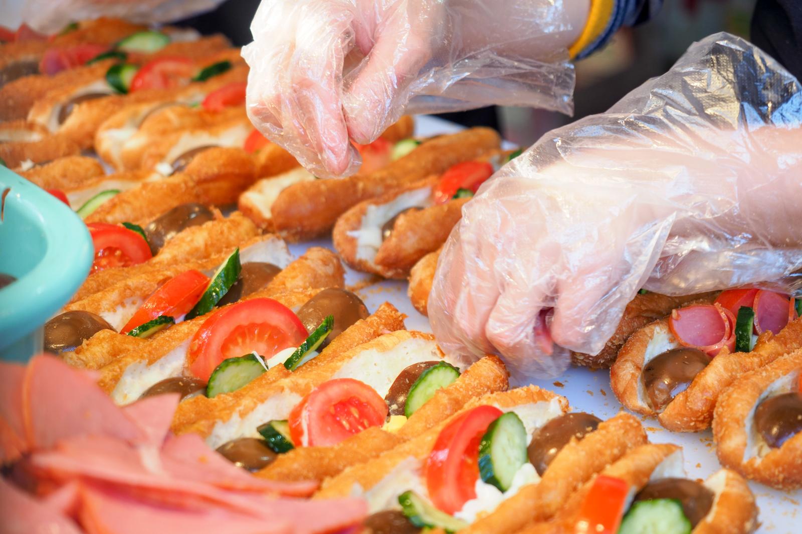 【七堵美食】七堵家傳營養三明治  三份一百美味又便宜 誰還會去買基隆廟口營養三明治