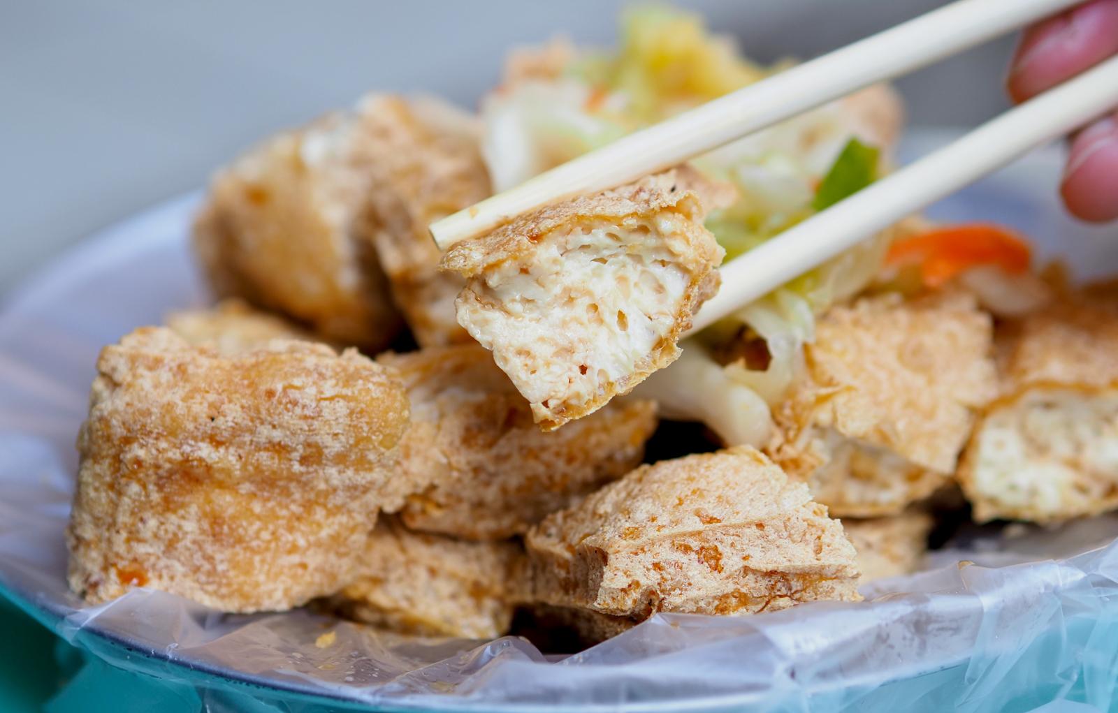 【七堵美食】七堵無名臭豆腐 一賣就是飄香五十年美味 單吃豆腐就夠滋味!