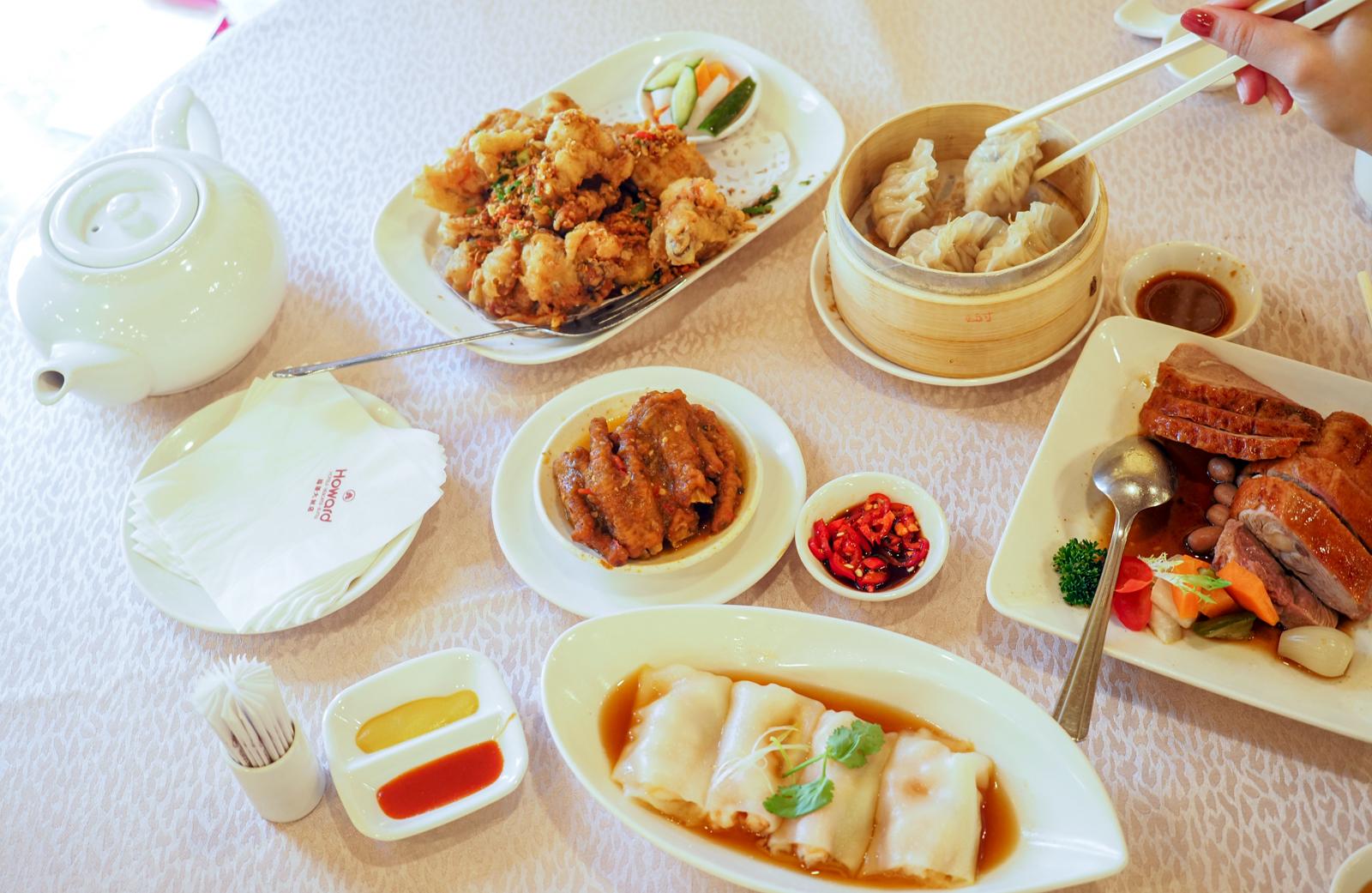 【港點吃到飽】福華大飯店珍珠坊 八百元就讓你62道港點粵菜全部吃到飽!