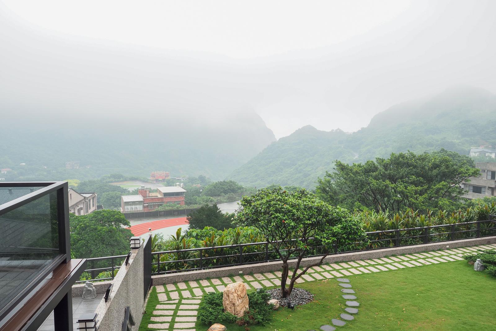 【金瓜石住宿】金漫會館 九份與金瓜石地區最日式高級民宿 還有SPA池邊泡邊看山嵐