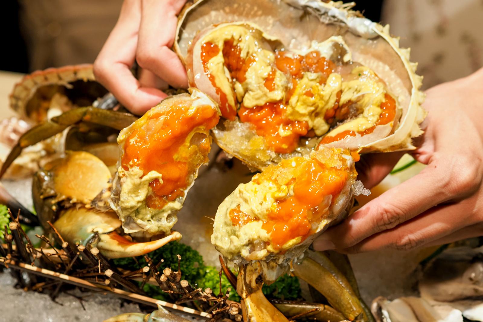 【台北火鍋】東雛菊風味鍋物 五倍券花下去海鮮滿滿台北最強蟹黃鍋在此!