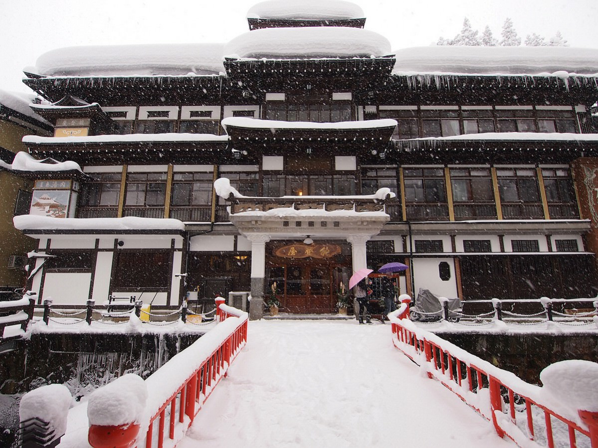 銀山溫泉+米澤牛鐵板燒一日遊 2012東北嚴冬行