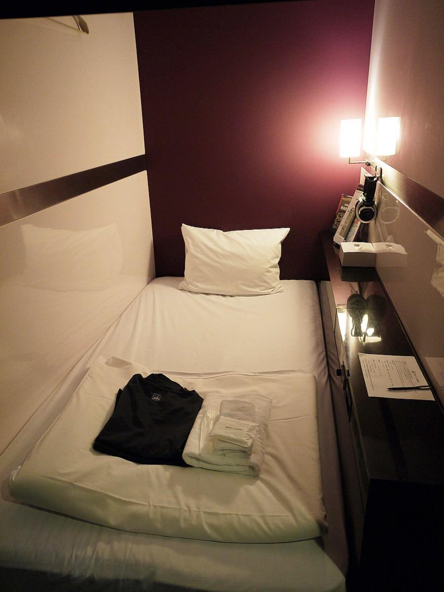 【京都膠囊旅館】FIRST CABIN京都烏丸,頭等艙般的空間 京都單人住宿