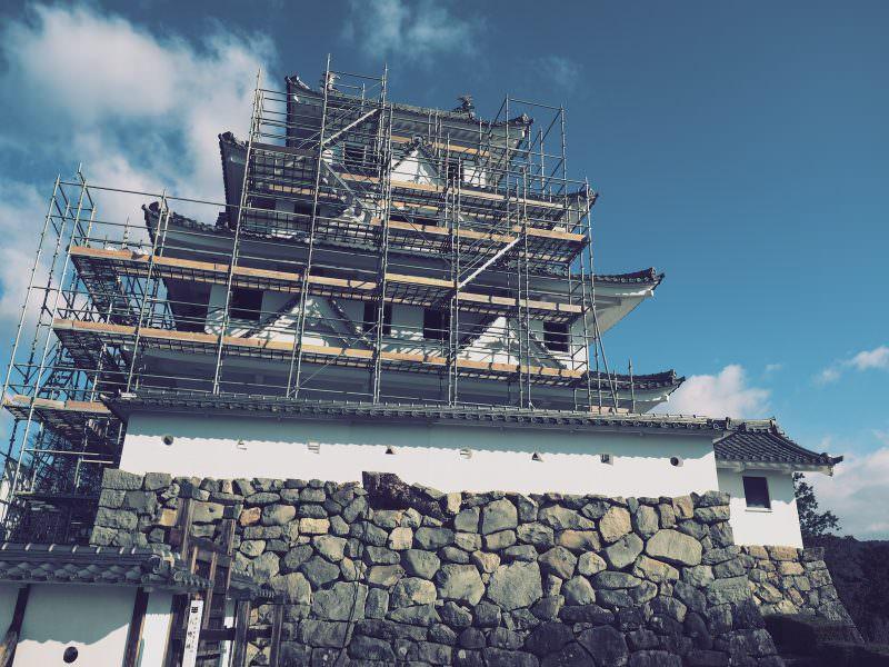 【郡上八幡城】 全國最古重建木造天守閣 富山歧阜好遊行 (6)