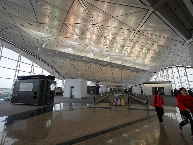 香港赤臘角機場 泰航貴賓室以及聯合航空貴賓室