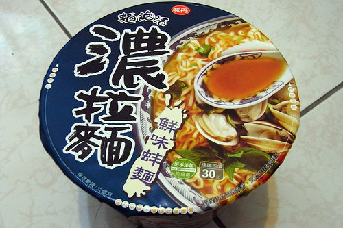 [試吃]當我們濃在一起 味丹濃拉麵–鮮味蚌麵