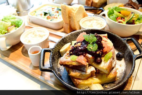 【台北食記】C25 PLUS 明星愛店!近期吃過最滿意的早午餐 不限時更推薦!