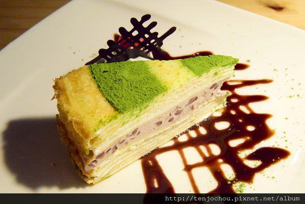 【台北食記】塔吉特信義人文會館 飲料+千層蛋糕=150元